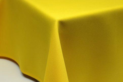 Egyszínű citromsárga ovális TÖBB méretben