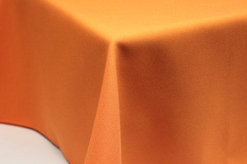 Egyszínű narancssárga ovális TÖBB méretben