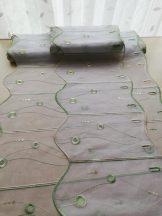 Zöld hímzett vitrázs 30 cm magas  20% kedvezmény