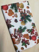Karácsonyi mintás asztalterítő TÖBB méretben