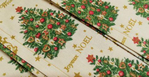 Karácsonyi tányéralátét