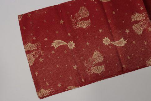 Piros karácsonyi futó 35 X 200 cm