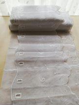 Fehér hímzett vitrázs 30 cm magas  20% kedvezmény