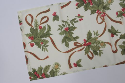 Karácsonyi mintás futó 35 cm X 180 cm