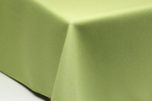 Egyszínű limezöld ovális TÖBB méretben