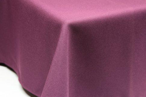 Egyszínű püspöklila ovális TÖBB méretben