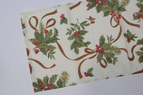 Karácsonyi mintás futó 35 cm X 160 cm