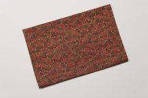 Karácsonyi mintás asztalközép 70 cm X 70 cm