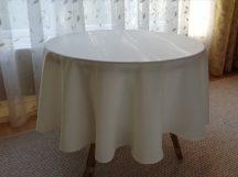 140 cm átmérő textil kerek asztalterítő (18 féle szín)