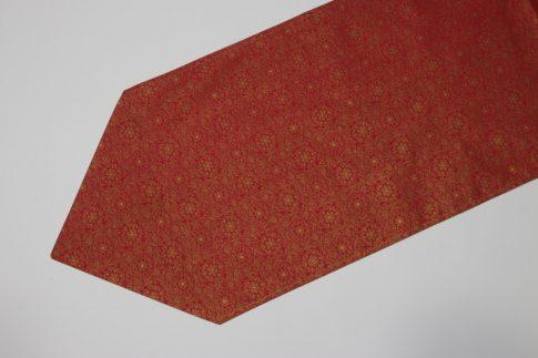 Piros karácsonyi mintás futó 35 cm X 200 cm