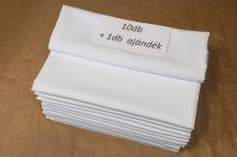 AKCIÓ 10+1 db, 120 cm X 120 cm textil asztalterítő (2 féle szín)