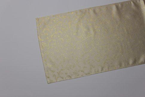 Arany karácsonyi mintás futó 35 cm X 120 cm