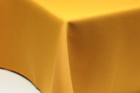 Egyszínű mustár ovális TÖBB méretben