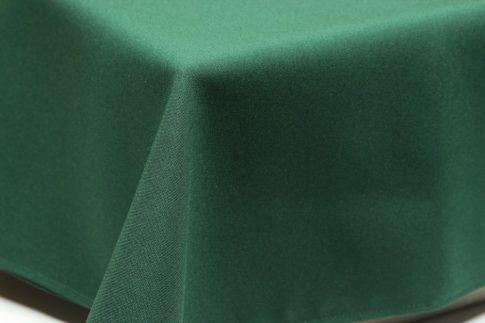 Egyszínű sötétzöld ovális TÖBB méretben