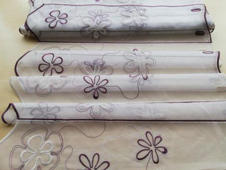 Lila hímzett vitrázs 60 cm magas  20% kedvezmény