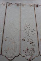 Barna hímzett vitrázs 60 cm magas 20% kedvezmény