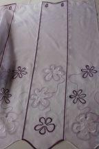 Lila hímzett vitrázs 90 cm magas    20% kedvezmény