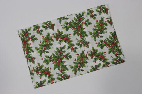 Karácsonyi mintás közép 70 cm X 70 cm