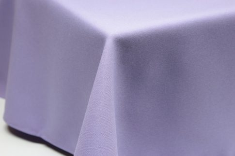 Egyszínű levendulalila ovális TÖBB méretben