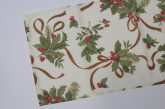 Karácsonyi mintás futó 35 cm X 140 cm
