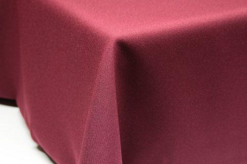Egyszínű bordó ovális TÖBB méretben