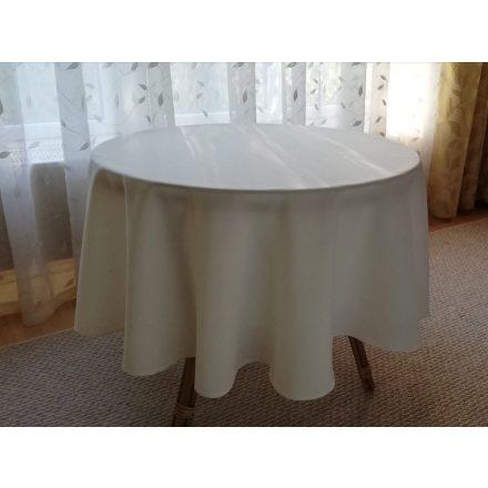 140 cm átmérő textil kerek asztalterítő TÖBB SZÍNBEN